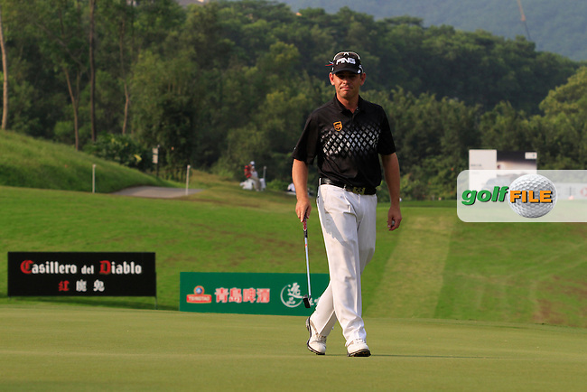 Louis Oosthuizen (RSA) on the 17th on Day 3 of the 2012 HSBC Champions, Mission Hills Golf Club, Shenzhen, China. 3/11/12..(Photo www.golffile.ie)