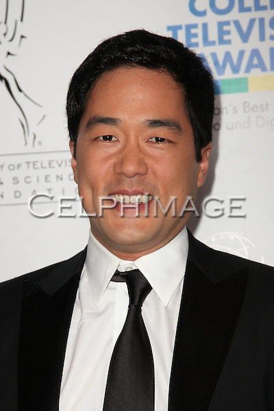 TIM KANG. Arrivals to the Academy of Television Arts and Sciences Foundation 31st Annual College Television Awards at the Renaissance Hotel. Hollywood, CA, USA. April 10, 2010.