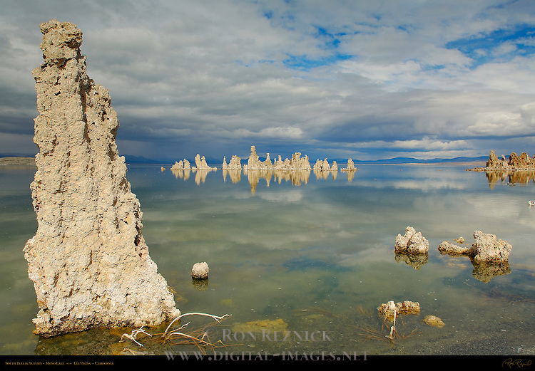 South Tufa in Autumn, Mono Lake, Lee Vining, California