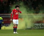 Manchester United's Marouane Fellaini looks on dejected after going 1-0 down<br /> <br /> FA Cup - Preston North End vs Manchester United  - Deepdale - England - 16th February 2015 - Picture David Klein/Sportimage