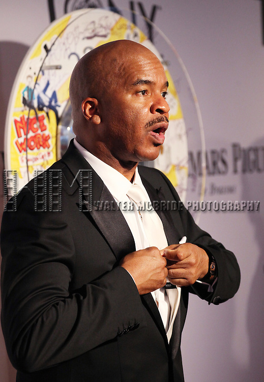 David Alan Grier pictured at the 66th Annual Tony Awards held at The Beacon Theatre in New York City , New York on June 10, 2012. © Walter McBride / WM Photography