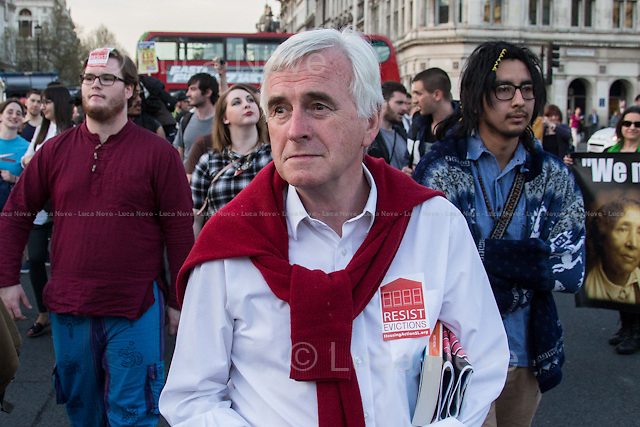 John McDonnell MP (British Labour Member of Parliament for Hayes and Harlington).<br />