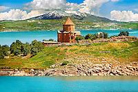 10th century Armenian Orthodox Cathedral of the Holy Cross on Akdamar Island, Lake Van Turkey 82