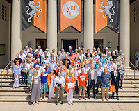 Alumni Reunion Weekend, class group photos - Fifty Year Club