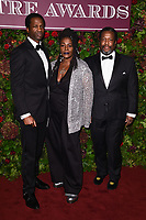 Sharon D. Clarke and Wendell Pierce<br /> arriving for the Evening Standard Theatre Awards 2019, London.<br /> <br /> ©Ash Knotek  D3539 24/11/2019