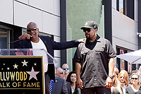 LOS ANGELES - JUN 12:  John Singleton, Ice Cube at the Ice Cube Star Ceremony on the Hollywood Walk of Fame on June 12, 2017 in Los Angeles, CA