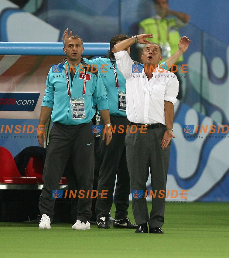 MG Vienna ( Austria) 20/06/2008  - Euro 2008 / Croazia-Turchia/ Foto Andrea Staccioli / Insidefoto<br /> Nella foto: Terim