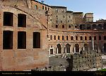 Great Hemicycle of Trajan's Market and Medieval Apartments Trajan's Forum Rome