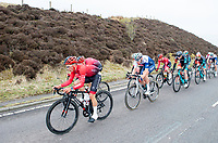 Picture by Allan McKenzie/SWpix.com - 15/04/18 - Cycling - HSBC UK British Cycling Spring Cup Road Series - Chorley Grand Prix 2018 - Chorley, England - Riders out on the West Penine moors around Chorley.