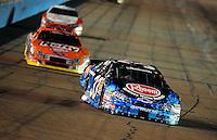 Apr 17, 2009; Avondale, AZ, USA; NASCAR Nationwide Series driver Kevin Harvick (33) during the Bashas Supermarkets 200 at Phoenix International Raceway. Mandatory Credit: Mark J. Rebilas-