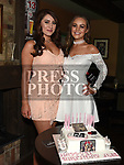 Jess Thompson celebrating her 21st birthday in Donaghy's with parents sister Rebecca. Photo:Colin Bell/pressphotos.ie