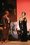 "Eric Parker stars with One Life To Live and Guiding Light Kim Zimmer stars as ""Norma Desmond"" in Sunset Boulevard for several weeks in August at the Barn Theatre in Augusta, Michigan. The photos are from the dress rehearsal. (Photo by Sue Coflin/Max Photos)"
