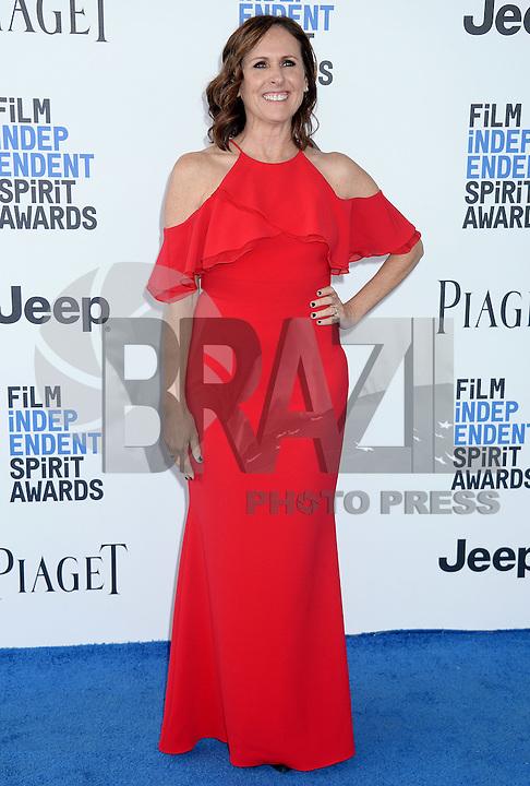 SANTA MONICA, 25.02.20-17 - SPIRIT-AWARDS - Molly Shannon durante Film Independent Spirit Awards em Santa Monica na California nos Estados Unidos (Foto: Gilbert Flores/Brazil Photo Press)