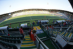 The Hague, Netherlands, June 05: View from the stands of the Kyocera Stadium on June 5, 2014 during the World Cup 2014 at Kyocera Stadium in The Hague, Netherlands. (Photo by Dirk Markgraf / www.265-images.com) *** Local caption ***