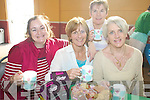 COFFEE: At the coffee morning for the Hospice Foundation in the CYMS Hall in Killorglin on Thursday last were, l-r: Cathriona O'Malley, Kathleen Murphy, Eileen Crowley and Mary Mangan.   Copyright Kerry's Eye 2008