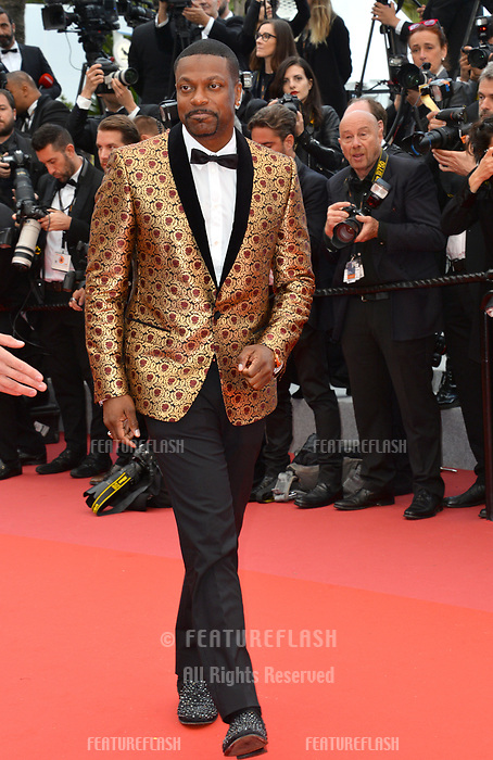 Chris Tucker at the gala screening for &quot;BLACKKKLANSMAN&quot; at the 71st Festival de Cannes, Cannes, France 14 May 2018<br /> Picture: Paul Smith/Featureflash/SilverHub 0208 004 5359 sales@silverhubmedia.com