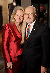 Dr. Robert Toth and Mrs. Fiona Toth at the M.D. Anderson Santa's Elves party Thursday Dec. 07,2017. (Dave Rossman Photo)