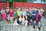 The Deane family, Gorthanedin, Castlemaine, pictured at their family reunion held in the Anvil Bar, Boolteens on Saturday evening