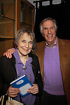 """Henry Winkler (Happy Days) is the author of a new series Ghost Buddy """"Zero to Hero"""" on January 25, 2012 at Books of Wonder, New York City, New York. Here he poses with Rhoda Levine who was his teacher at Yale. (Photo by Sue Coflin/Max Photos)"""
