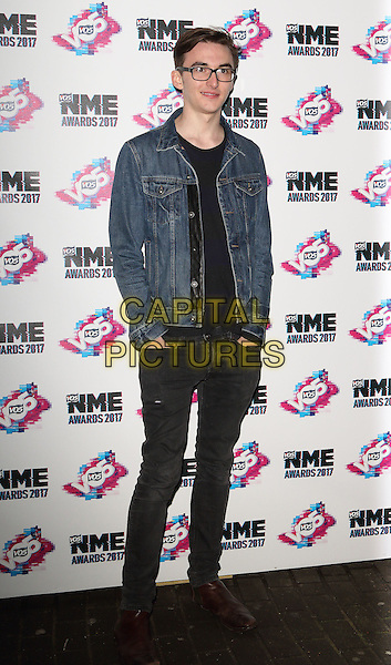 Isaac Hempstead Wright at The VO5 NME Awards 2017 at the O2 Academy, Brixton, London on February 15th 2017<br /> CAP/ROS<br /> &copy;Steve Ross/Capital Pictures