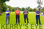 James Collins, Killarney Chirs Collins Killarney Patsy Donoghue Castleisland and Paudie Shea Killarney enjoying a round of golf in Killarney Golf and Fishing club on Sunday