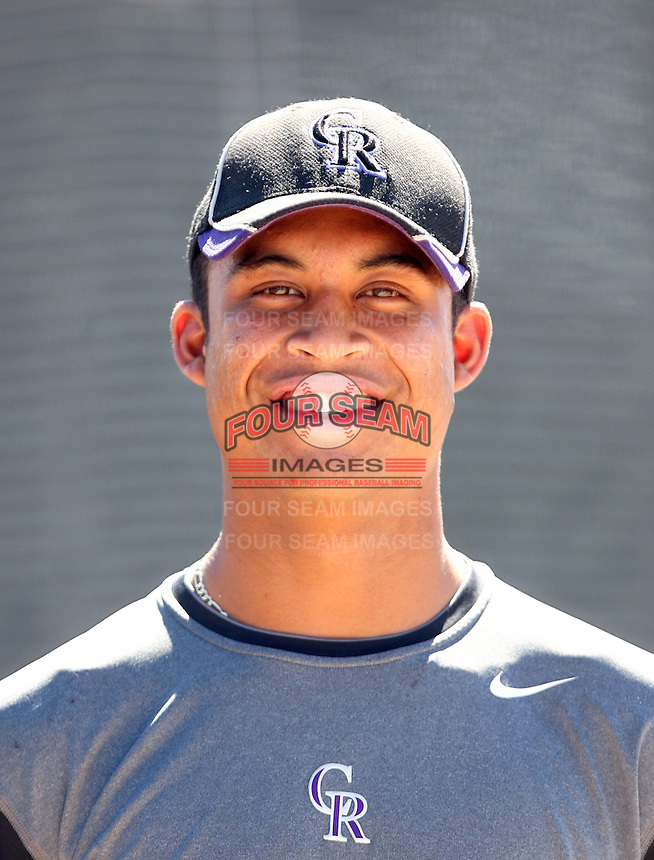 Peter Tago - Colorado Rockies - 2010 Instructional League.Photo by:  Bill Mitchell/Four Seam Images..