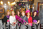 Launching the Christmas Girls night out which takes place on Wednesday 30th November, From LeftLizette Sheehy, Yvana Michalak, Leslie Power, Danny Russell, Sunny Riordan and Mary Boyle staff from Changes Hair and Beauty.