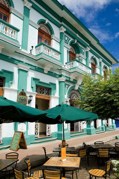 Colonial architecture on La Calzada, Granada, Nicaragua