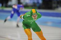 SCHAATSEN: HEERENVEEN: 28-12-2013, IJsstadion Thialf, KNSB Kwalificatie Toernooi (KKT), 10.000m, Bob de Vries, ©foto Martin de Jong