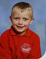 UNKNOWN COPYRIGHT<br /> Pictured: James Bowen when he was about 7 years old. Wednesday 10 January 2018<br /> Re: Peter Bower Racing in Little Newcastle, west Wales, UK.