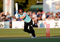 Aaron Finch bats for Surrey during Kent Spitfires vs Surrey, Vitality Blast T20 Cricket at the St Lawrence Ground on 23rd August 2019