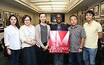 Xeujiao Bai, Yanping Ma, Zhenzhu Ma, Martine Sainvil, Zhiyong Liu and Wen Chen attend Central Academy of Drama: Professors Visit Broadway League on September 25, 2017 at the Broadway League in New York City.