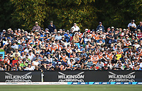 General view of fans at Hagley Oval.<br /> New Zealand Blackcaps v England. 5th ODI International one day cricket, Hagley Oval, Christchurch. New Zealand. Saturday 10 March 2018. &copy; Copyright Photo: Andrew Cornaga / www.Photosport.nz