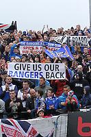 Ayr United v Rangers 061013