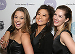 Erika Henningsen, Ashley Park, and Taylor Louderman attend the Casting Society of America's 33rd annual Artios Awards at Stage 48 on January 18, 2018 in New York City.