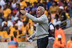 05.01.2019, FNB Stadion/Soccer City, Nasrec, Johannesburg, RSA, Premier League, Kaizer Chiefs FC vs Mamelodi Sundowns FC<br /> <br /> im Bild / picture shows <br /> Ernst Middendorp (Manager / Head Coach / Trainer Kaizer Chiefs FC) in Coachingzone / an Seitenlinie  <br /> during Matchday Kaizer Chiefs FC vs Mamelodi Sundowns FC, <br /> <br /> Foto &copy; nordphoto / Ewert
