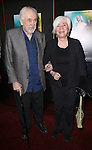 "Louis Zorich and Olympia Dukakis attend the Broadway Opening Night Performance of ""Lady Day at Emerson's Bar & Grill""  at Circle in the Square Theatre on April 13, 2014 in New York City."