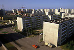 Tallinn Estonia 1980s. A Baltic State country part of the USSR. Modern flats. 1980s.