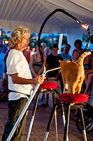 Street Performers at Mallory Square, Key West, Florida, USA. Photo by Debi Pittman Wilkey