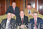 ESB employees l-r: Sean O'Sullivan, Michael Doody, Ppat Healy, Padraig Brosnan and Tadhg Collins all Killarney who celebrated their retirement from the company in the Killarney Avenue Hotel on Friday evening .