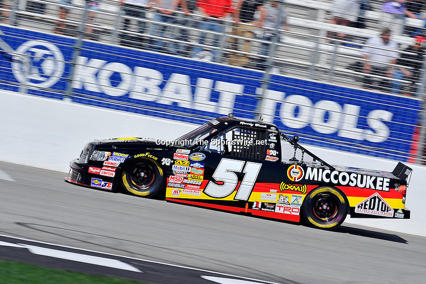 Mar 07, 2009; 2:24:02 PM; Hampton, GA, USA; NASCAR Camping World Truck Series race for the American Commercial Lines 200 at the Atlanta Motor Speedway.  Mandatory Credit: (thesportswire.net)