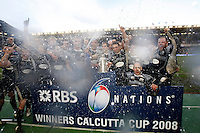Photo: Richard Lane/Richard Lane Photography. .Scotland v England. RBS Six Nations. 08/03/2008. .