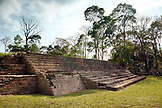 BELIZE, Punta Gorda, Toledo, the ruins at Lubantuun