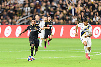 Los Angeles, CA - October 24, 2019.  LAFC defeated the Los Angeles Galaxy 5 - 3 in the Western Conference semifinal match at Banc of California stadium in Los Angeles.