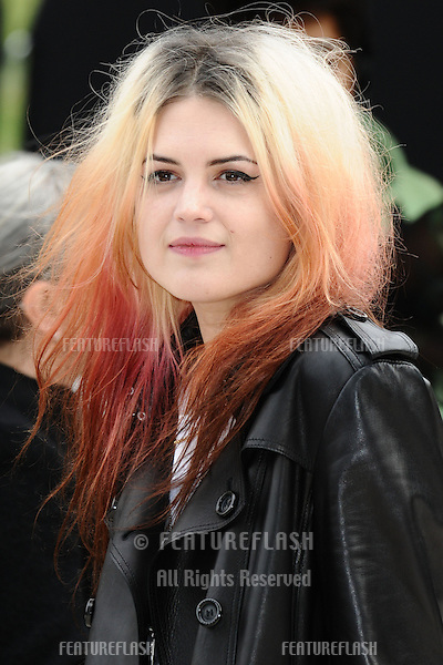 Alison Mosshart arriving for the Burberry Prorsum catwalk show as part of London Fashion Week SS13, Kensington Gardens, London. 17/09/2012 Picture by: Steve Vas / Featureflash