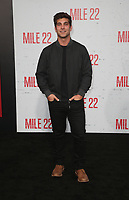 "9 August 2018-  Westwood, California - David Bernon. Premiere Of STX Films' ""Mile 22"" held at The Regency Village Theatre. Photo Credit: Faye Sadou/AdMedia"