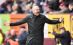 Burnley manager Sean Dyche during the premier league match at the Turf Moor Stadium, Burnley. Picture date 10th September 2017. Picture credit should read: Paul Burrows/Sportimage