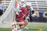 Towson, MD - May 6, 2017: UMASS Minutemen Jeff Trainor (2) in action during game between Towson and UMASS at  Minnegan Field at Johnny Unitas Stadium  in Towson, MD. May 6, 2017.  (Photo by Elliott Brown/Media Images International)