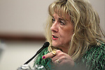 Nevada Assemblywoman Jill Dickman, R-Sparks, works in committee at the Legislative Building in Carson City, Nev., on Tuesday, March 17, 2015. <br /> Photo by Cathleen Allison