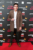 "Xuso Jones attend the Premiere of the movie ""El club de los incomprendidos"" at callao Cinema in Madrid, Spain. December 1, 2014. (ALTERPHOTOS/Carlos Dafonte) /NortePhoto<br />